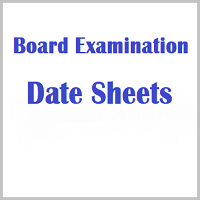 Class 10th 12th Exam Time Table 2019 / Board Date Sheet - Released